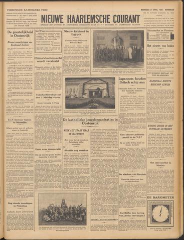 Nieuwe Haarlemsche Courant 1938-04-27