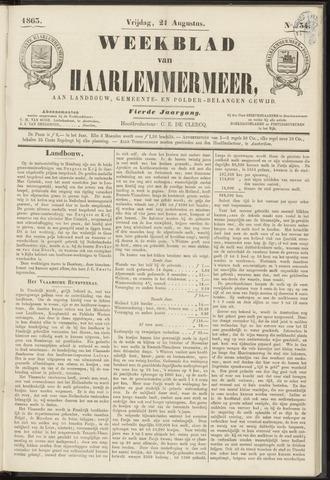 Weekblad van Haarlemmermeer 1863-08-21