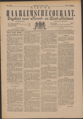 Nieuwe Haarlemsche Courant 1897-01-26