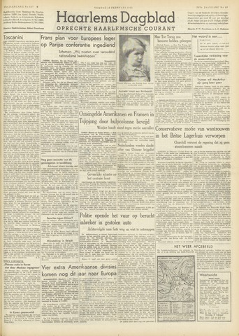 Haarlem's Dagblad 1951-02-16