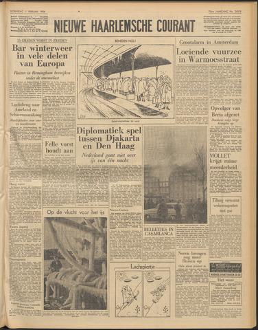 Nieuwe Haarlemsche Courant 1956-02-01