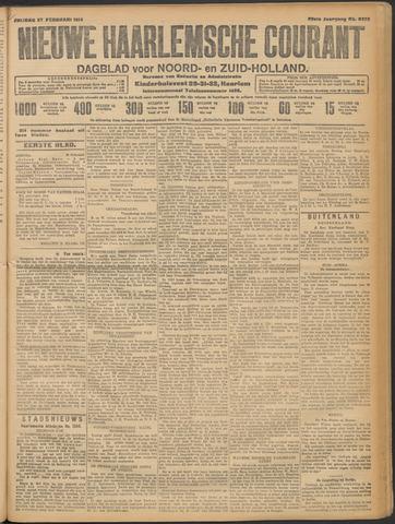 Nieuwe Haarlemsche Courant 1914-02-27