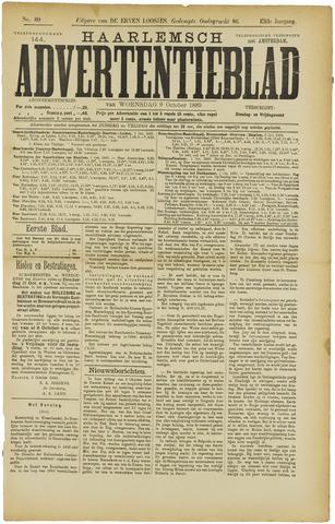 Haarlemsch Advertentieblad 1889-10-09