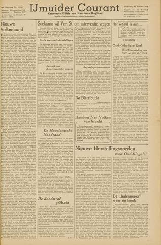 IJmuider Courant 1945-10-25