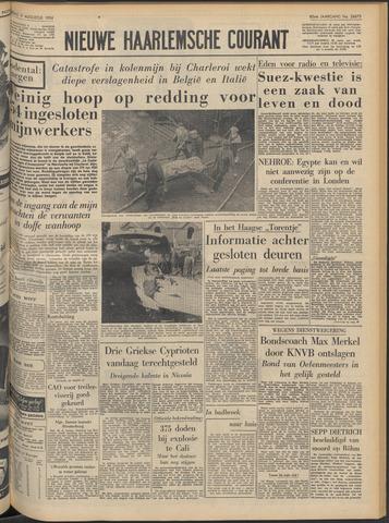 Nieuwe Haarlemsche Courant 1956-08-09