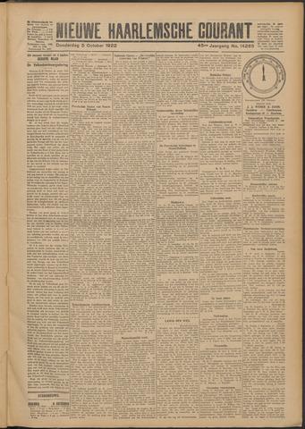 Nieuwe Haarlemsche Courant 1922-10-05