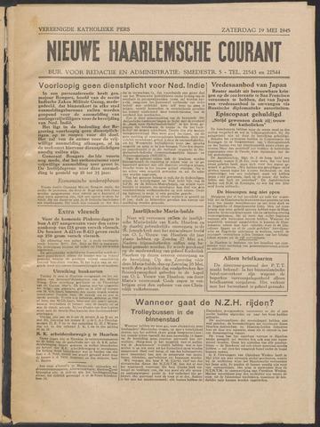 Nieuwe Haarlemsche Courant 1945-05-19