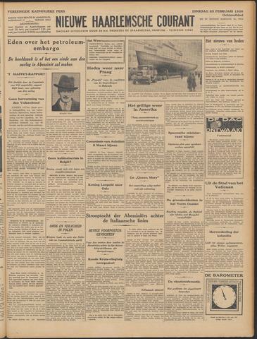 Nieuwe Haarlemsche Courant 1936-02-25