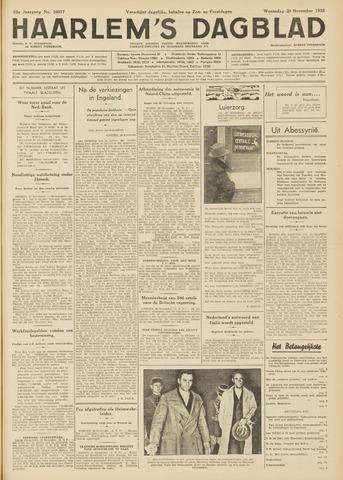 Haarlem's Dagblad 1935-11-20