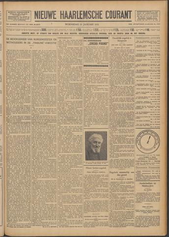 Nieuwe Haarlemsche Courant 1931-01-21
