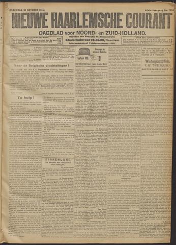 Nieuwe Haarlemsche Courant 1914-10-10