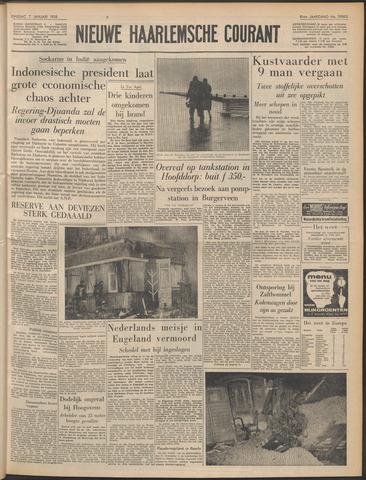 Nieuwe Haarlemsche Courant 1958-01-07
