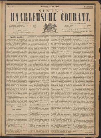Nieuwe Haarlemsche Courant 1879-06-26