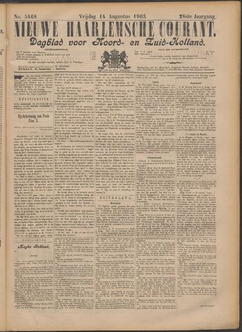Nieuwe Haarlemsche Courant 1903-08-14