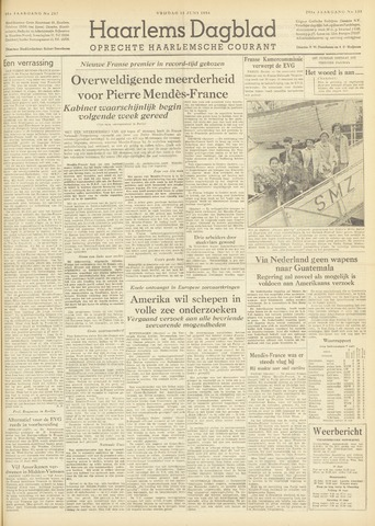 Haarlem's Dagblad 1954-06-18