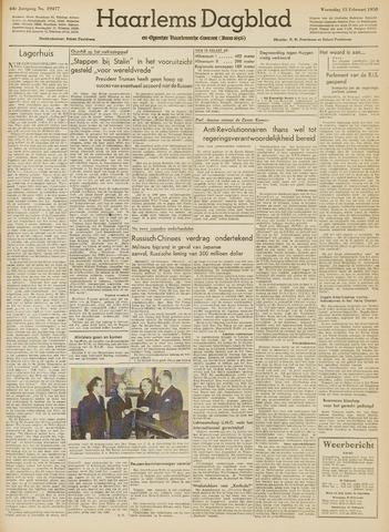 Haarlem's Dagblad 1950-02-15