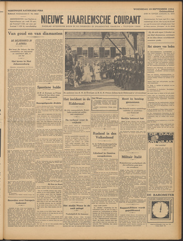Nieuwe Haarlemsche Courant 1934-09-19