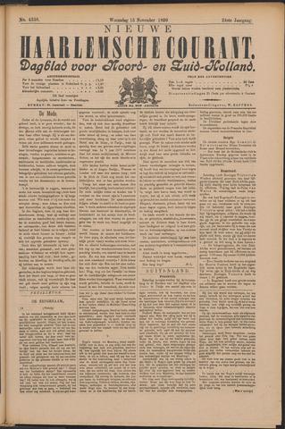 Nieuwe Haarlemsche Courant 1899-11-15