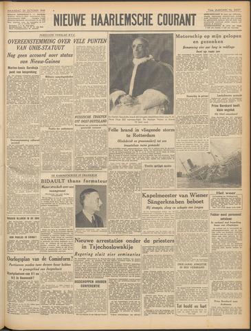 Nieuwe Haarlemsche Courant 1949-10-24