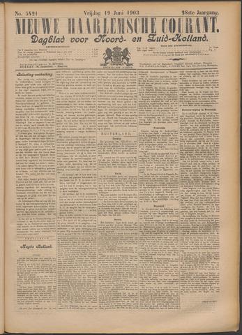 Nieuwe Haarlemsche Courant 1903-06-19