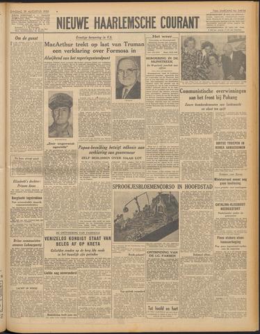 Nieuwe Haarlemsche Courant 1950-08-29