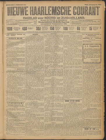 Nieuwe Haarlemsche Courant 1914-02-04