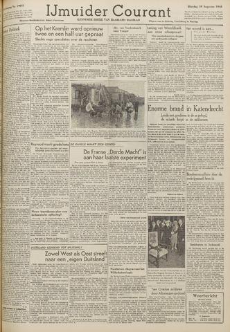 IJmuider Courant 1948-08-10