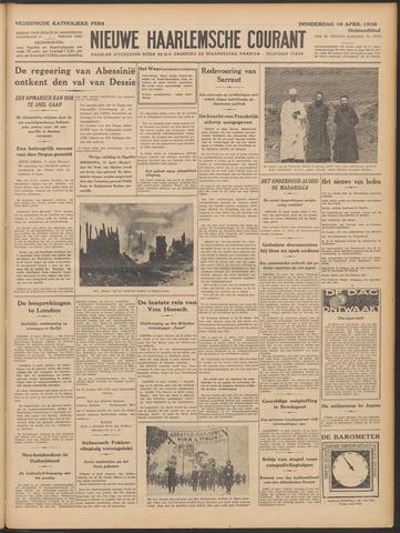 Nieuwe Haarlemsche Courant 1936-04-16