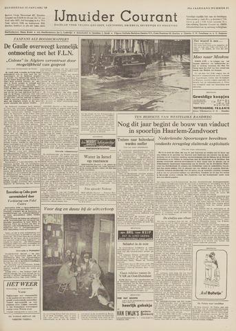 IJmuider Courant 1959-01-15