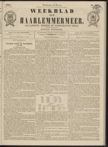 Weekblad van Haarlemmermeer 1867-07-05