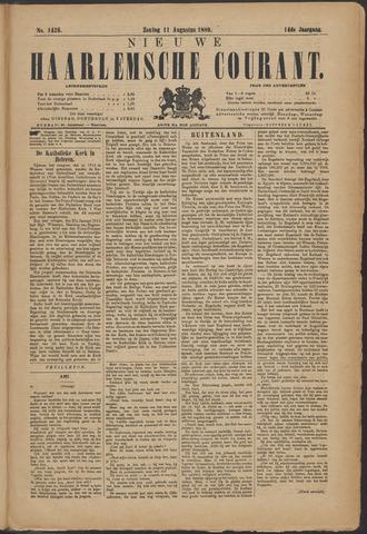 Nieuwe Haarlemsche Courant 1889-08-11