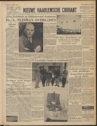 Nieuwe Haarlemsche Courant 1954