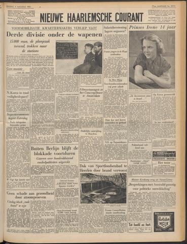 Nieuwe Haarlemsche Courant 1953-08-04
