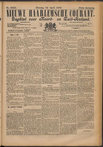 Nieuwe Haarlemsche Courant 1906-04-24