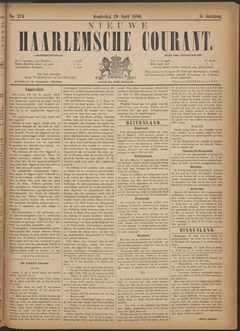 Nieuwe Haarlemsche Courant 1880-04-29