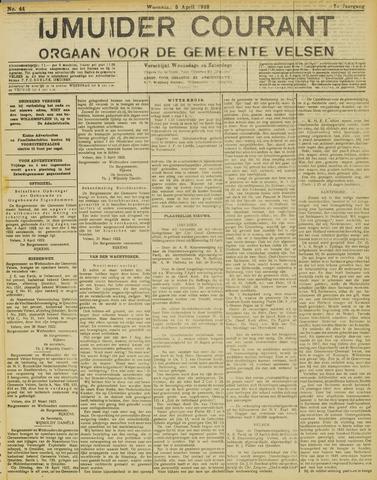 IJmuider Courant 1922-04-05