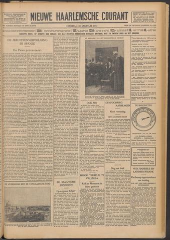 Nieuwe Haarlemsche Courant 1932-01-26