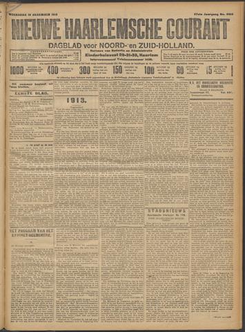 Nieuwe Haarlemsche Courant 1912-12-18