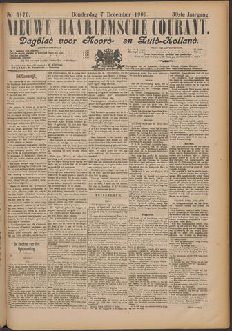 Nieuwe Haarlemsche Courant 1905-12-07