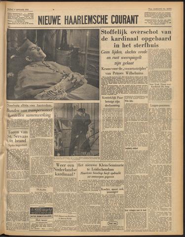 Nieuwe Haarlemsche Courant 1955-09-09