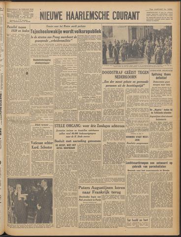 Nieuwe Haarlemsche Courant 1948-02-26