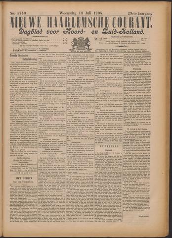 Nieuwe Haarlemsche Courant 1904-07-13