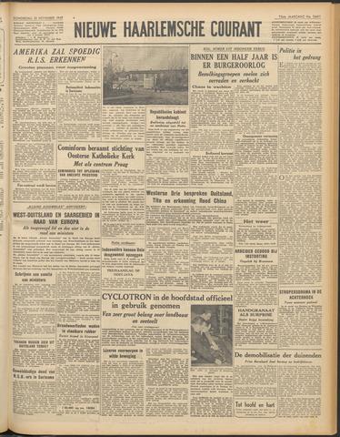 Nieuwe Haarlemsche Courant 1949-11-10