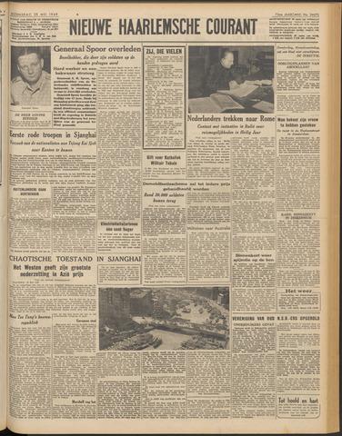 Nieuwe Haarlemsche Courant 1949-05-25