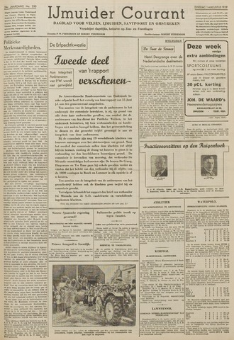 IJmuider Courant 1939-08-01
