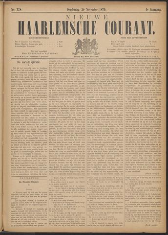 Nieuwe Haarlemsche Courant 1879-11-20