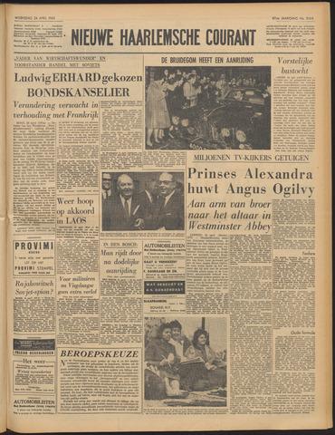Nieuwe Haarlemsche Courant 1963-04-24