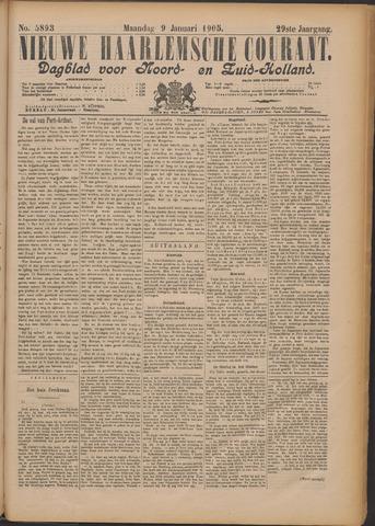 Nieuwe Haarlemsche Courant 1905-01-09