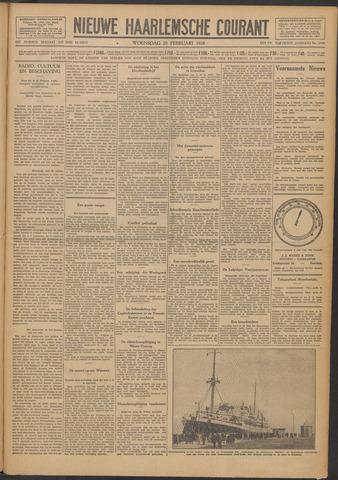 Nieuwe Haarlemsche Courant 1928-02-29
