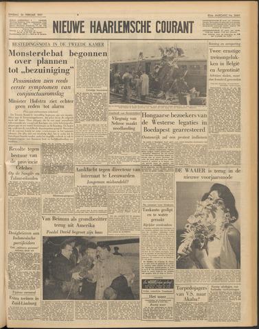 Nieuwe Haarlemsche Courant 1957-02-26